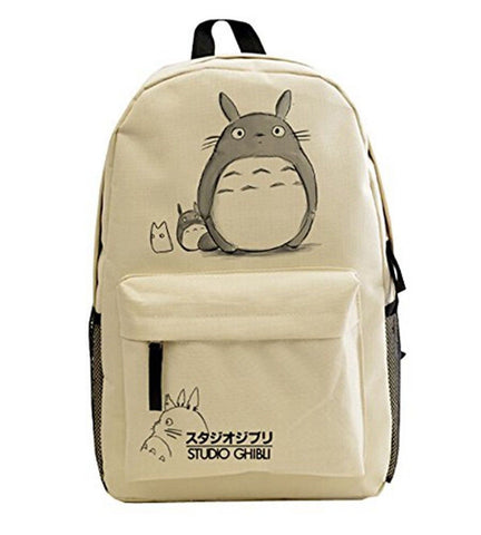 Anime My Neighbor Totoro Unisex School Backpack Totoro Cartoon Casual/travel ... - Chickadee Solutions