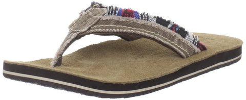 Sanuk Men's Fraid Too Sandal Tan/Baja 7 D(M) US - Chickadee Solutions - 1