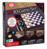 Ideal Premium Wood Cabinet 10 Game Set - Chickadee Solutions - 1