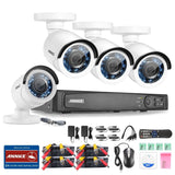 Annke 8 Channel 1080P HD-TVI Security DVR + 4 HD 1080P 2.0 MegaPixels CCTV Ca... - Chickadee Solutions - 1
