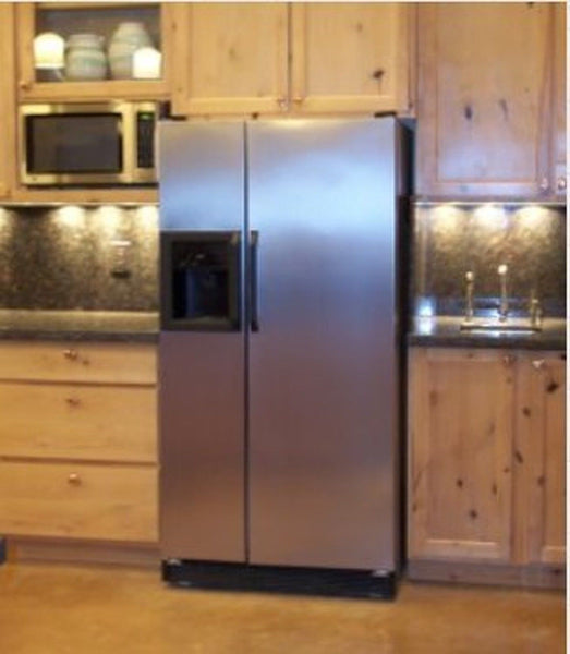 Decorate Your Kitchen Fast with a Magnetic Appliance Skin I came upon the Best Appliance Skins online and does not bubble like peel & stick film and never.