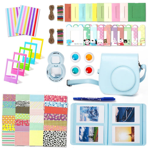 Fujifilm Instax Mini 8 Accessories Leebotree 10 in 1 Camera Bundles Set Inclu... - Chickadee Solutions - 1