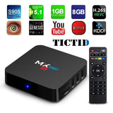 TICTID MX Pro Amlogic S905 Chipset Android 5.1 Lollipop OS Quad Core 1G/8G 4K... - Chickadee Solutions - 1