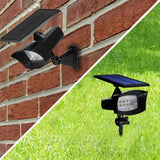 Solar Spotlights Outdoor Landscape Lights YIHONG 8 LED 400 Lumen Super Bright... - Chickadee Solutions - 1
