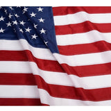 ANLEY [Heavy Duty] American US Flag 3x5 Foot Nylon - Embroidered Stars and Se... - Chickadee Solutions - 1