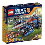 LEGO NexoKnights Clays Rumble Blade 70315 - Chickadee Solutions - 1