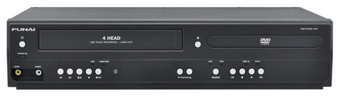 Funai Corp. DV220FX5 Dual Deck DVD and VHS Player - Chickadee Solutions - 1