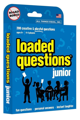 Loaded Questions Junior card game - Chickadee Solutions - 1
