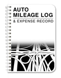BookFactory Auto Mileage Log Book / Automobile Expense Record Notebook - 124 ... - Chickadee Solutions - 1