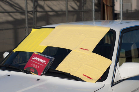 (3 Pack) Car Drying Towel Chamois + Microfiber Cloth by CARFIDANT (LARGE 3pcs... - Chickadee Solutions - 1