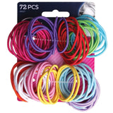 Goody - Ouchless No Metal Gentle Elastics Assorted Colors 72 pack 1-Pack - Chickadee Solutions