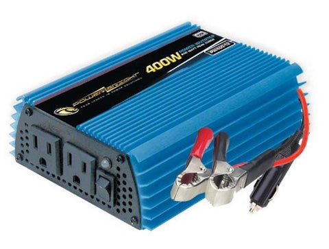 Power Bright PW400-12 Power Inverter 400 Watt 12 Volt DC To 110 Volt AC - Chickadee Solutions - 1