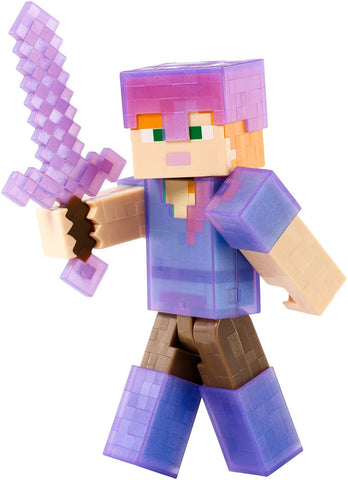 "Minecraft Armor Up Alex 5"" Figure - Chickadee Solutions - 1"