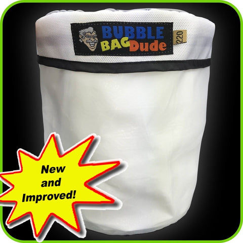 220 Micron Zipper Bag for 5 Gallon Bubble Machine Ice Now Magic - Herbal Extr... - Chickadee Solutions - 1