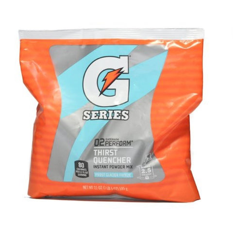 Gatorade 2.5 Gallon Powder Pouch Frost Glacier Freeze (Single Pack) - Chickadee Solutions - 1
