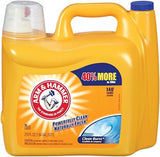 Arm & Hammer 3320000106 210oz Dual HE Clean-Burst Liquid Laundry Detergent Pa... - Chickadee Solutions