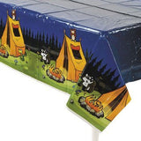 "Camping Camp Adventure Plastic Tablecover - 54"" x 108"" - Chickadee Solutions"