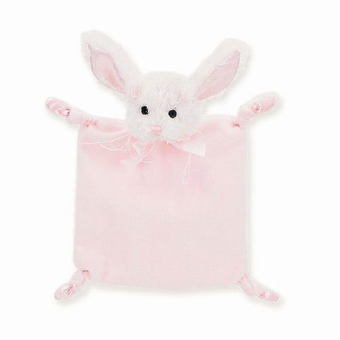 1 X Baby's Pink Bunny Blankie - Bearington Wee Cottontail - Chickadee Solutions