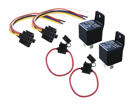 Absolute USA 2 In-line ATC Fuse Holder 2 Relay RLS125 12 VCD Automotive Relay... - Chickadee Solutions