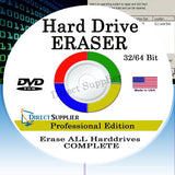 Hard Drive Eraser 32/64Bit Professional Edition - Wipe your Hard Drive Secure... - Chickadee Solutions