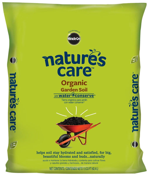 Miracle gro 71959127 nature 39 s care organic garden soil for Organic soil solutions