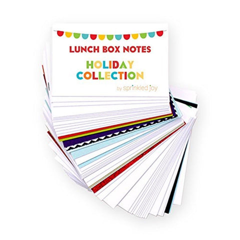 Sprinkled Joy Designer Lunchbox Notes Multi Holiday - Chickadee Solutions - 1
