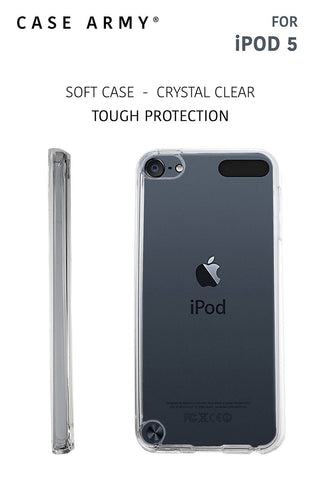 Apple iPod Touch 5th & iPod Touch 6th Generation Case Case Army iPod 5 & iPod... - Chickadee Solutions - 1