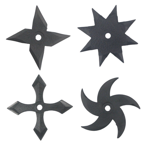 Ninja Rubber Gear Throwing Star/ Dagger - Chickadee Solutions - 1