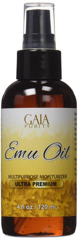 Emu Oil - Large 4oz - Best Natural Oil For Face Skin Hair Growth Stretch Mark... - Chickadee Solutions - 1