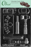 Cybrtrayd J081 Nurse Kit Chocolate Candy Mold with Exclusive Cybrtrayd Copyri... - Chickadee Solutions