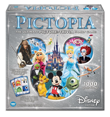 Pictopia-Family Trivia Game: Disney Edition - Chickadee Solutions - 1