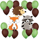 Woodland Creatures - Party Balloon Kit - Chickadee Solutions - 1