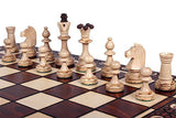 The Zaria - Unique Wood Chess Set Pieces Chess Board & Storage - Chickadee Solutions - 1