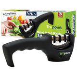 Hand Held Knife Sharpener - Revive and Maintain Your Kitchen Knives - Razor S... - Chickadee Solutions - 1