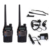 Baofeng UV5RA Two Way Radio (Black) 2pack 5RA - Chickadee Solutions - 1