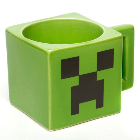 Minecraft Ceramic Creeper Face Mug E1028841 713757236720 - Chickadee Solutions