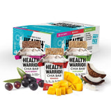 Health Warrior Chia Bars Coconut/Acai Berry/Mango Variety Pack 13.2-Ounce (Pa... - Chickadee Solutions - 1