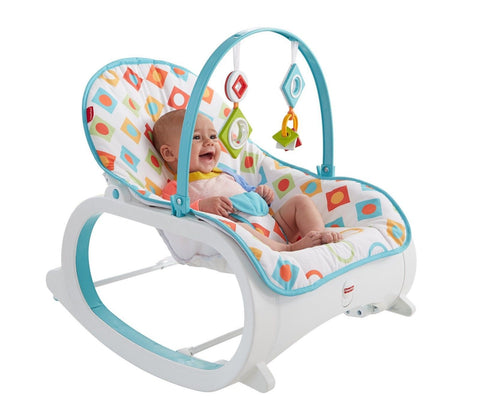 Fisher-Price Infant-to-Toddler Rocker Geo Diamonds Fisher-Price CMP83 - Chickadee Solutions - 1
