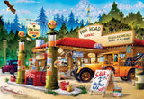 Buffalo Games 2000 piece: Pine Road Service - 2000 Piece Jigsaw Puzzle by Buf... - Chickadee Solutions