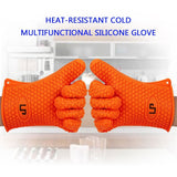 LP Silicone Heat Resistant Grilling BBQ Gloves (Pair) for Cooking Camping Bak... - Chickadee Solutions - 1