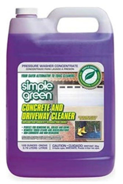 simple green 18202 concrete and driveway cleaner 1 gallon On cement cleaning solution