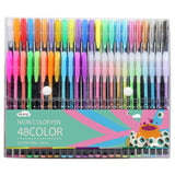Hosal Color Art Bonus Gel Ink Colors Included: Classic Glitter pen Neon Stand... - Chickadee Solutions - 1