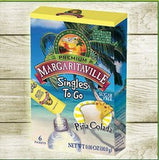 Margaritaville Singles to Go Drink Mix Pina Colada 6 Count (Pack of 6) - Chickadee Solutions - 1