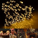 200LED Solar Outdoor Christmas String Lights - Xmas Decorations (Warm White W... - Chickadee Solutions - 1