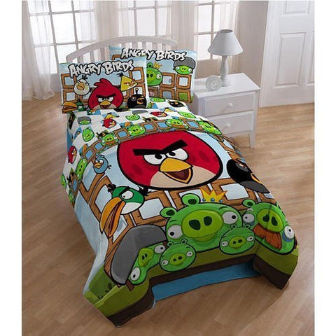Angry Birds Twin Comforter Set - Chickadee Solutions