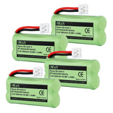 4-Pack iMah Ryme B2 Rechargeable Cordless Phone Battery Pack for BT184342 BT2... - Chickadee Solutions - 1