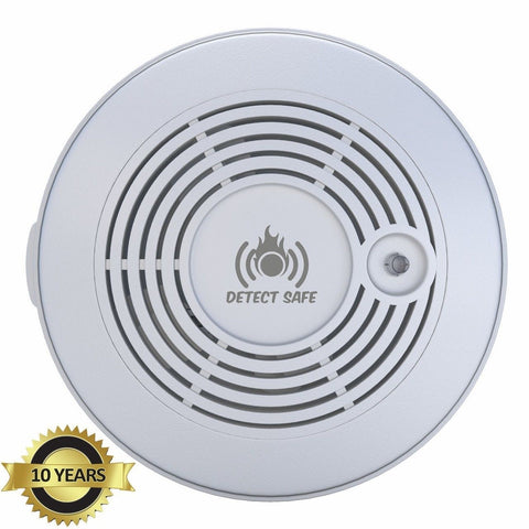 ADVANCED 10 Year Battery Carbon Monoxide Smoke Fire Detector combo. Cutting-E... - Chickadee Solutions - 1