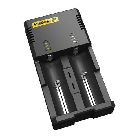 Nitecore i2 Intellicharge Charger for 18650 AAA AA Li-Ion/NiMH Battery - Chickadee Solutions - 1