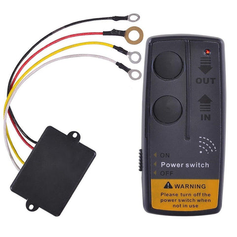 65ft Wireless Winch Remote Control Kit For Jeep ATV SUV UTV 12V Switch Handset - Chickadee Solutions - 1