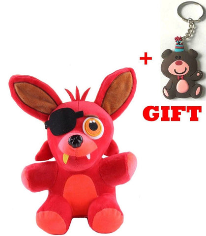 Amazing Toys store Five Nights At Freddy's 4 FNAF FOXY Plush Toy size:25 cm - Chickadee Solutions - 1